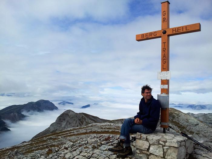 Stefan Klein am Großen Tragl im Steinernen Meer