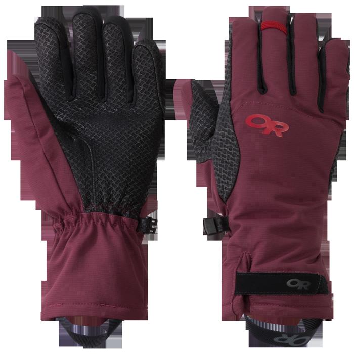 Von Frauen für Frauen designt: die Ouray Aerogel Handschuhe