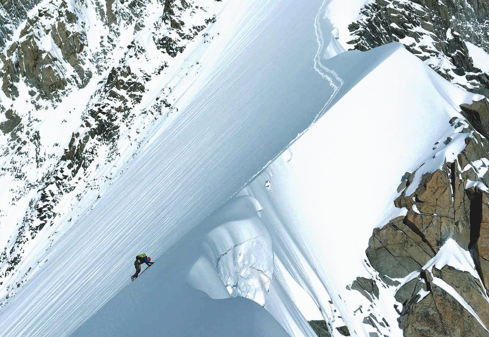 Nicht nur Normalwege: Steck am Peutereygrat (Mont Blanc)