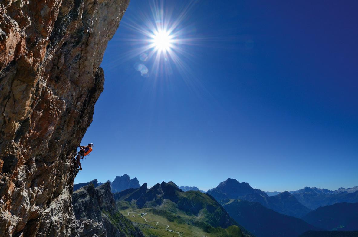 Der Alvera Quergang eignet sich gut für Einsteiger
