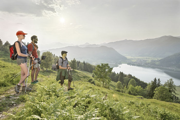 Ringsum nichts als Berge: im Wanderparadies Kaiserwinkl