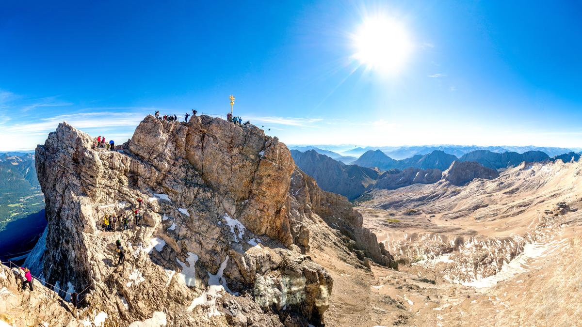 Vier Wege Auf Die Zugspitze Bergsteiger Magazin