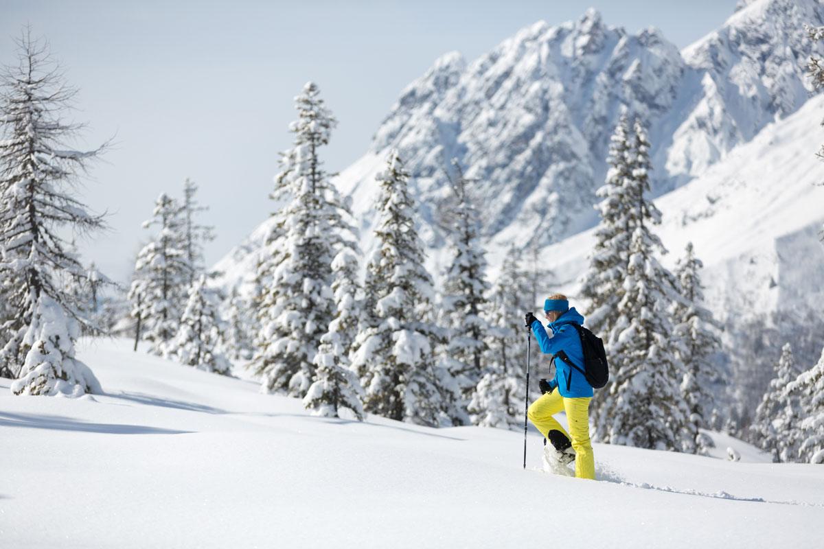 Ausrüstungsberater Schneeschuhwandern