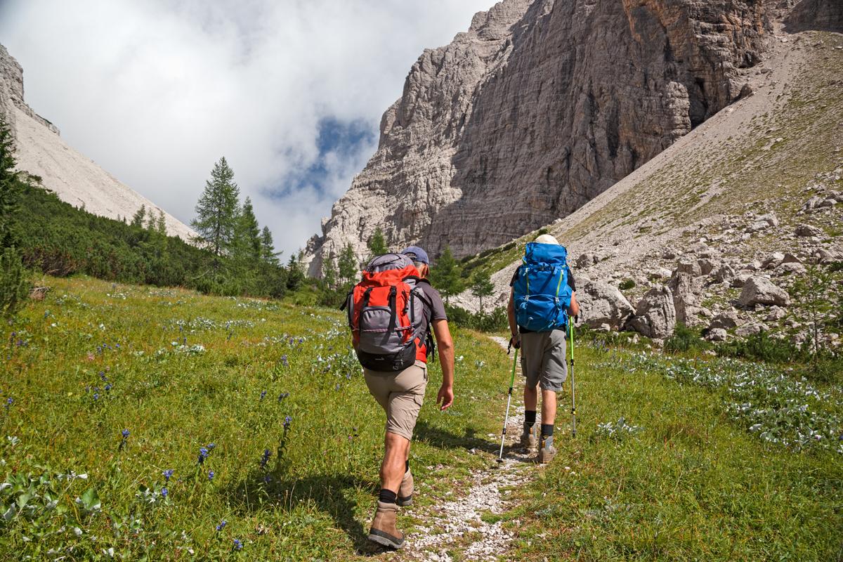 Wanderer Hüttentour