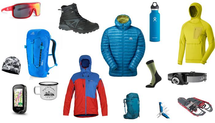 Die volle Auswahl an Bergsport-Produkten