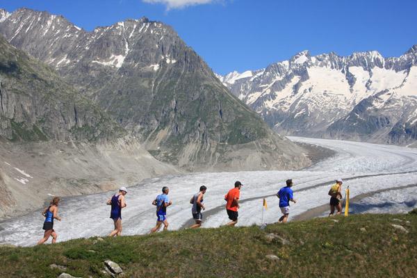 Der Aletsch Halbmarathon wurde zum schönsten Berglauf Europas gewählt. Zurecht!