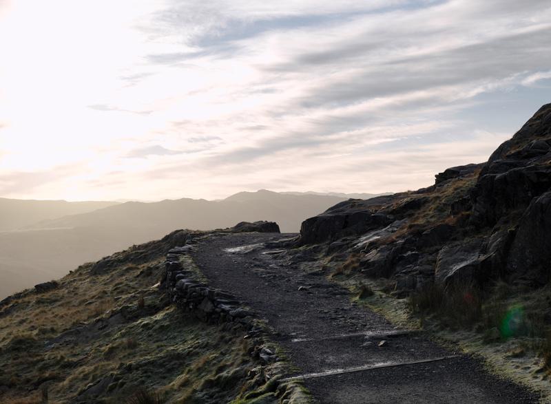 Die Bilder zur adidas terrex Ausstellung wurden unter anderem in Wales aufgenommen