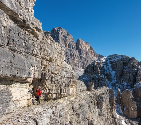 Der Alpinisteig beschert ein tolles Finale der Sextener Klettersteigrunde