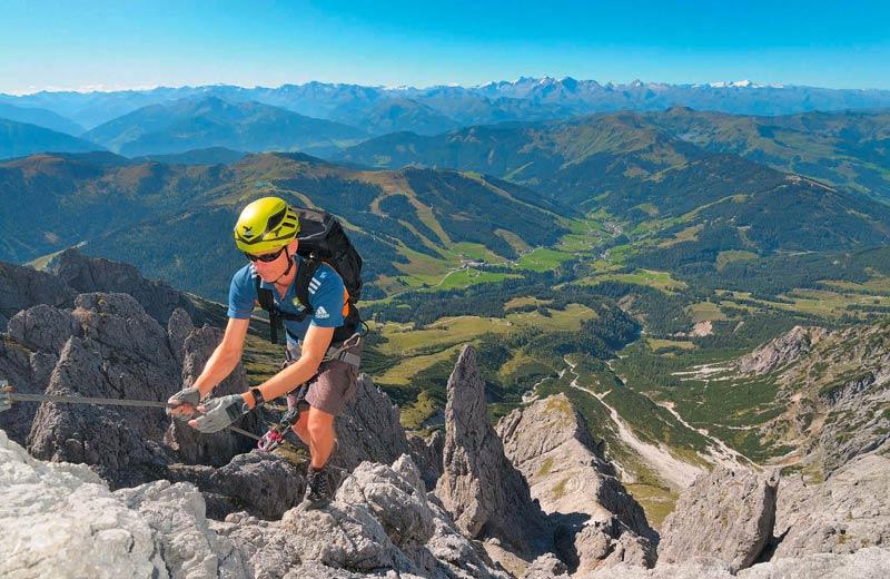 Die neusten Ausrüstungstrends 2015 für den Klettersteig