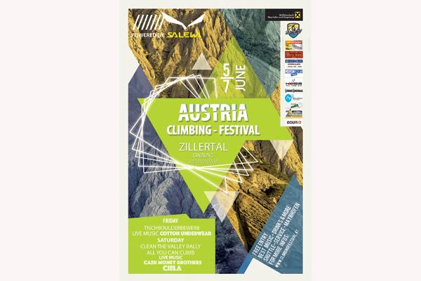 Austria Climbing Festival 2015 im Zillertal