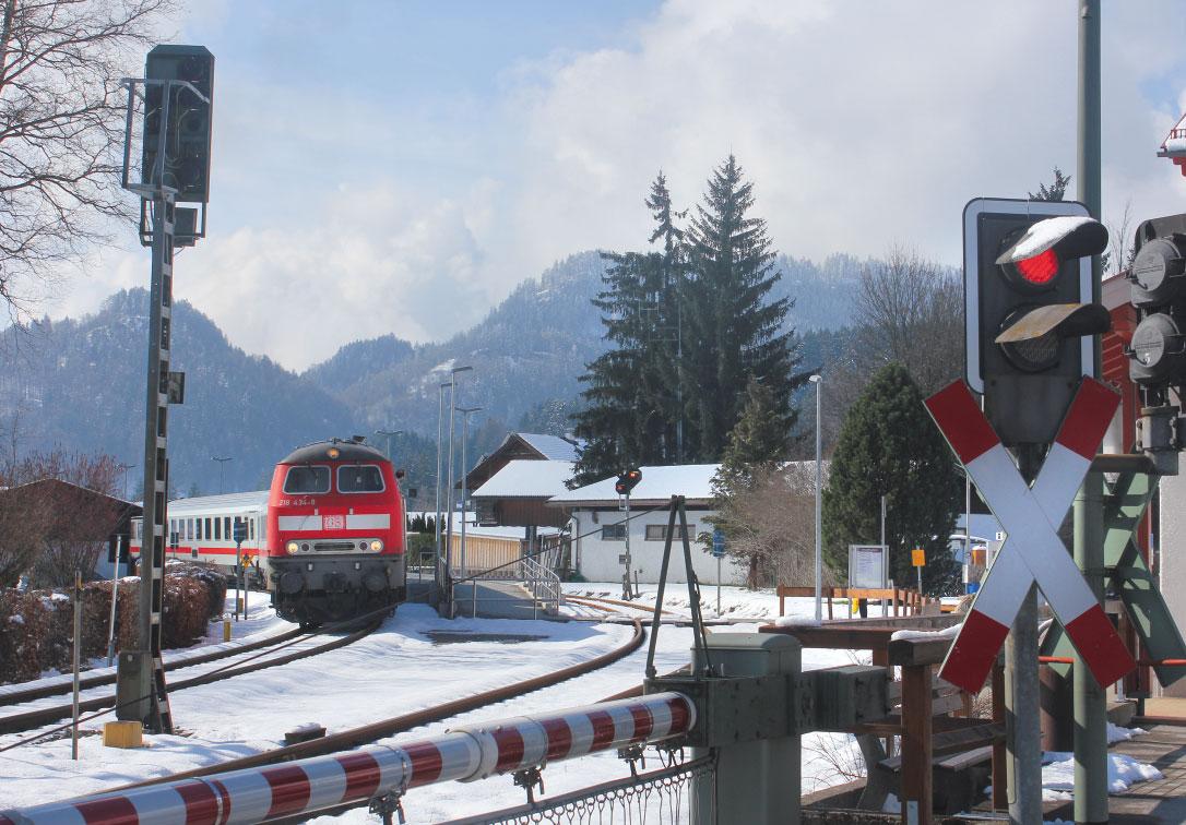 Winterwandern mit der Bahn in den Bayerischen Alpen
