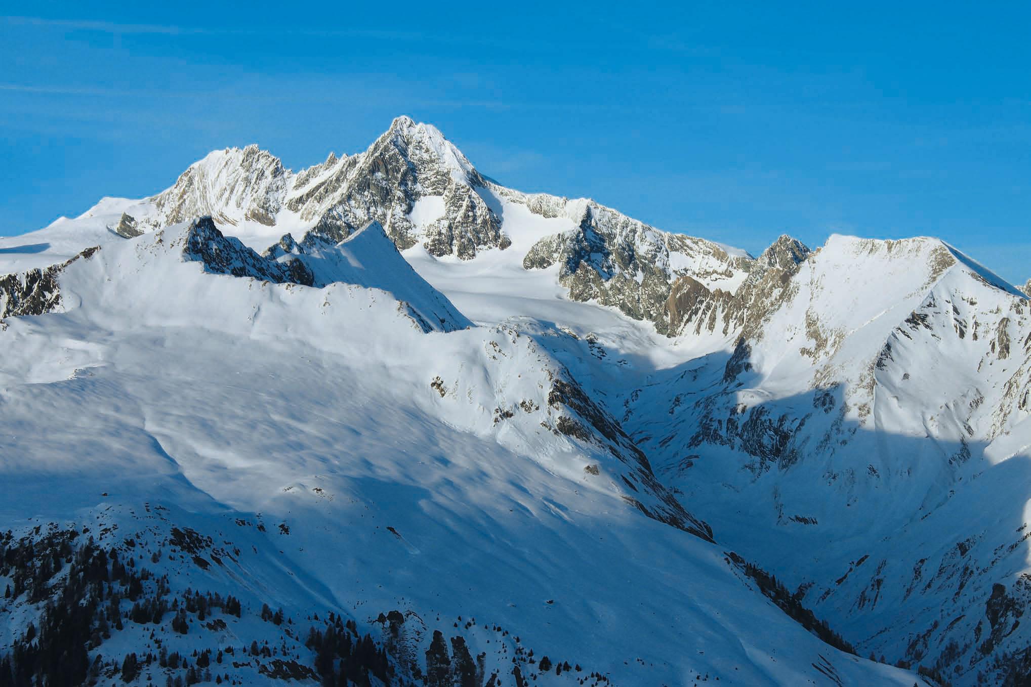 Skitourenberge rund um den Glockner und Großvenediger