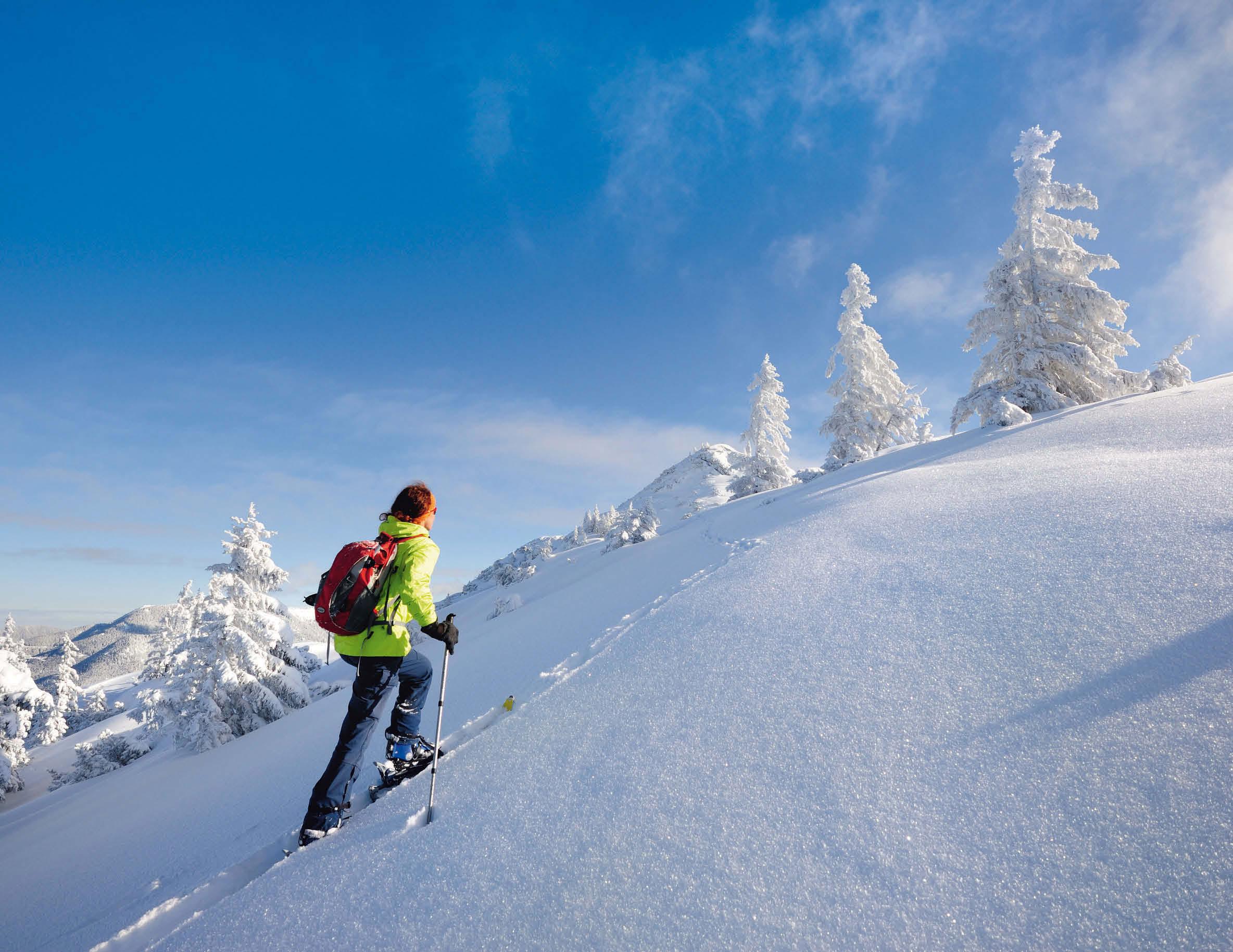 Skitouren in den Bayerischen Voralpen mit Thermenbesuch