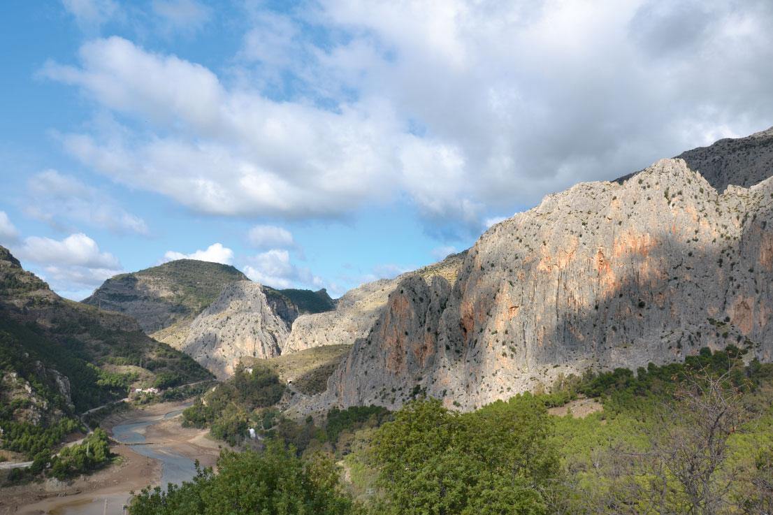Klettern in Südspanien