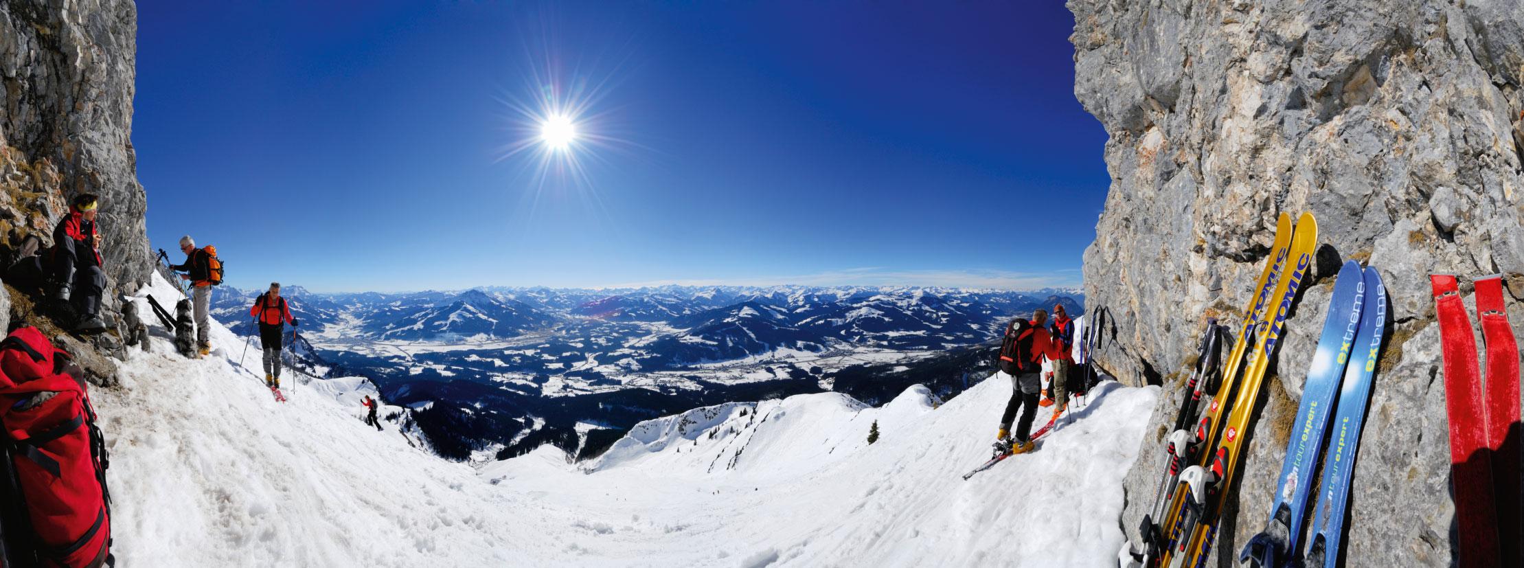Skitouren im Kaisergebirge