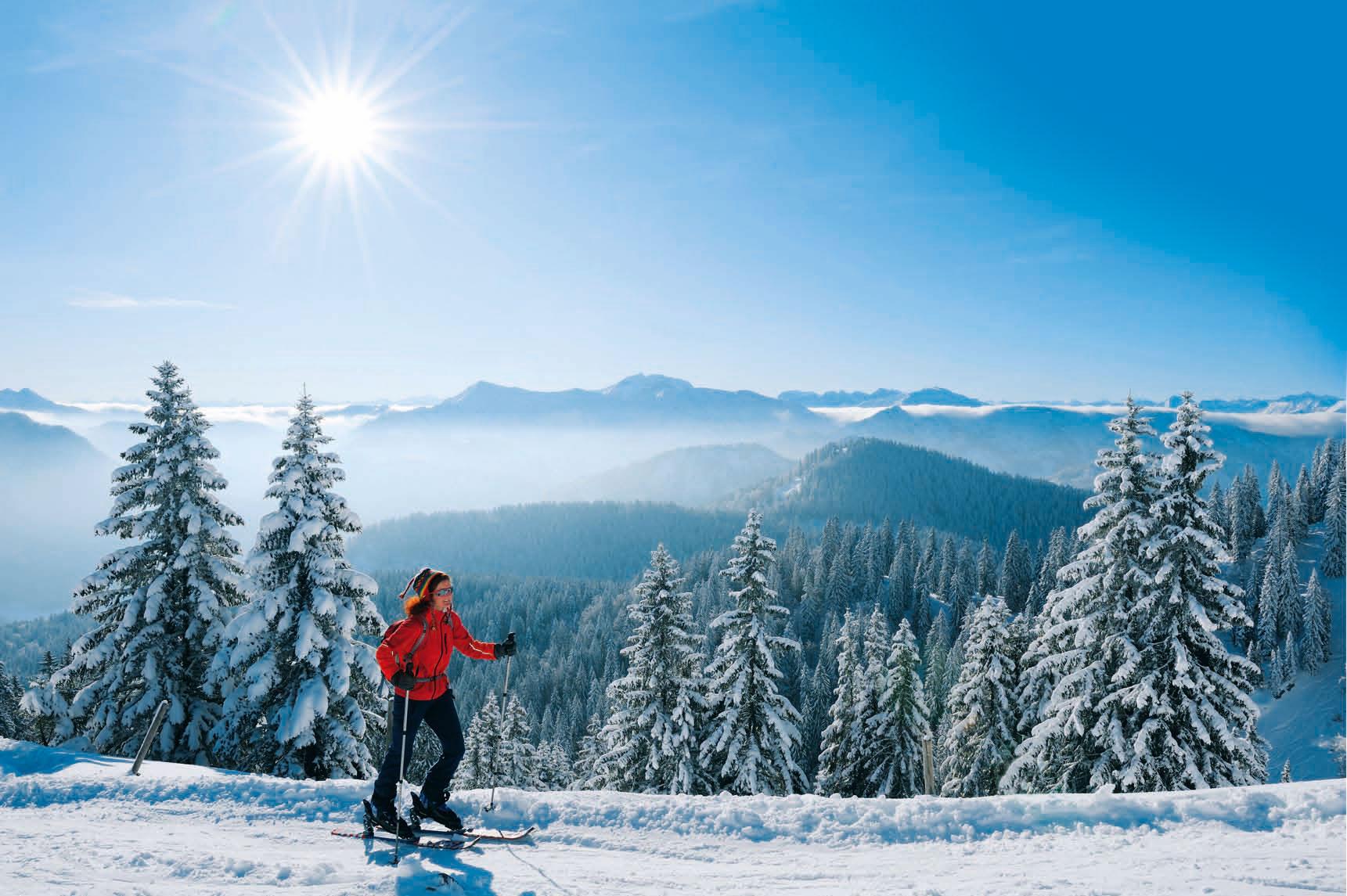 Skitouren an den Münchner Hausbergen