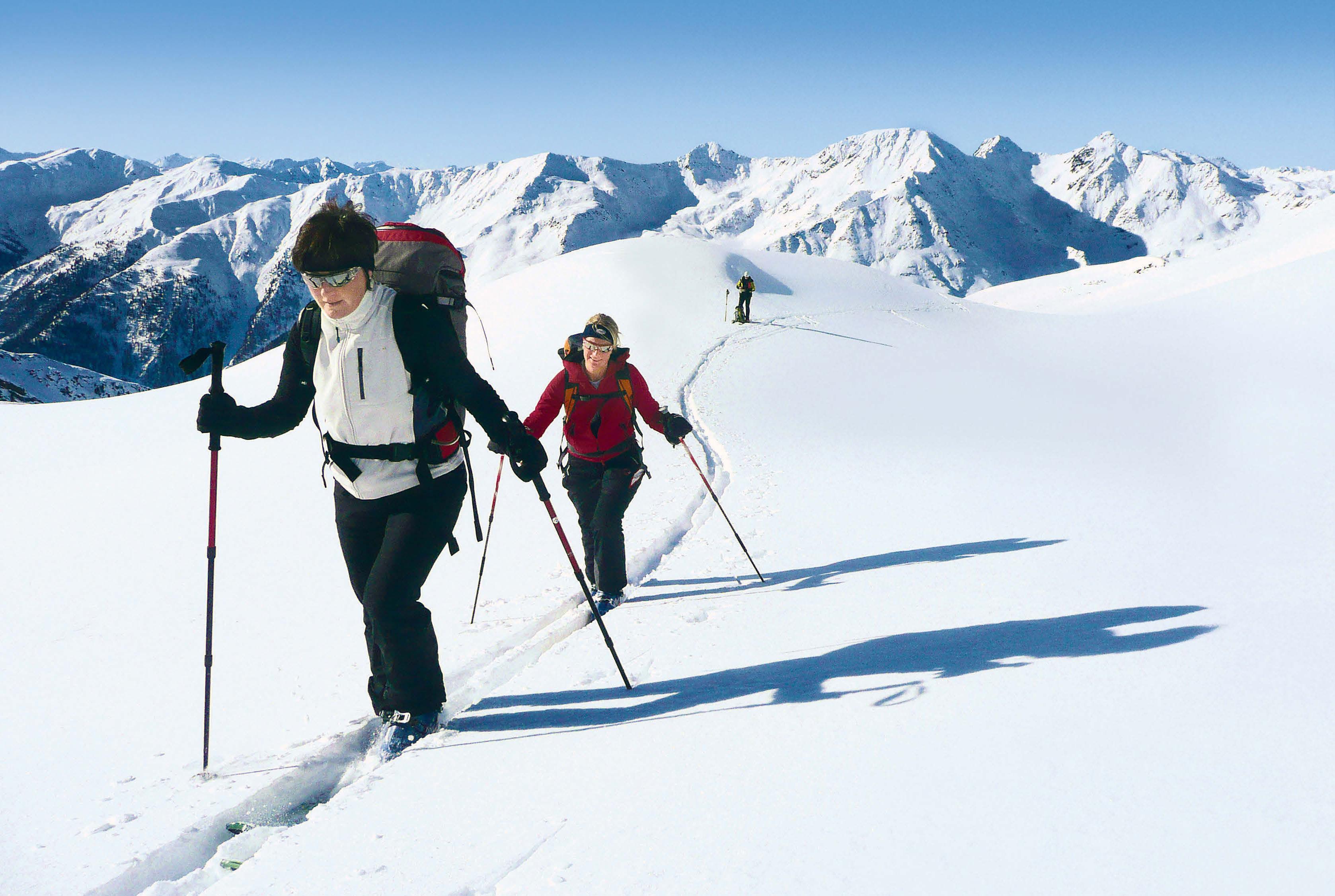 Ruhige Skitouren und Schneeschuhwanderungen im Tiroler Villgratental