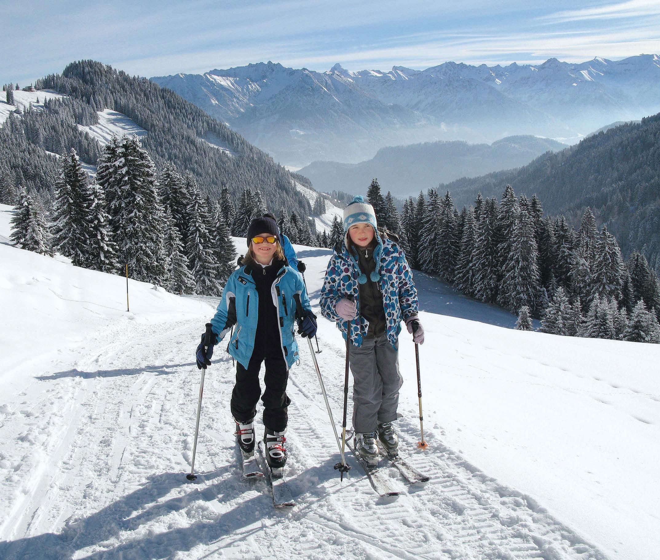 Mit Kindern auf Skitour - Kleine auf großen Touren