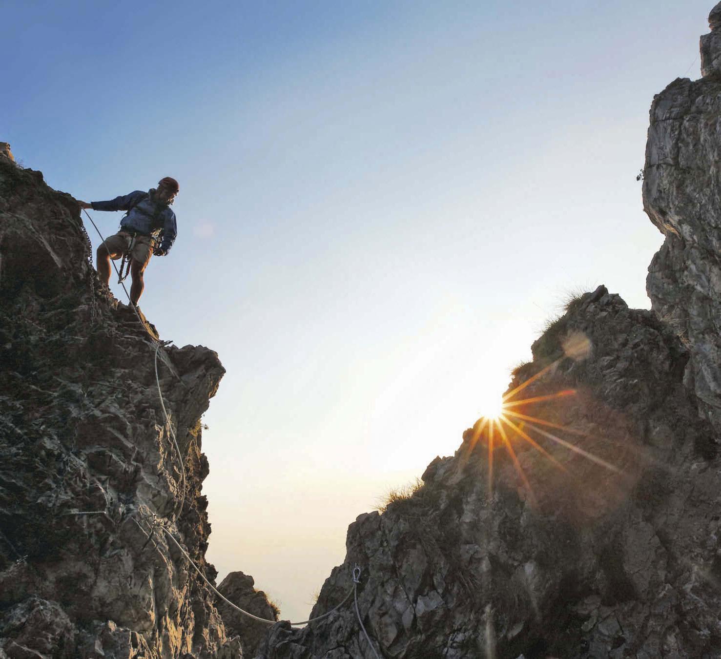 Klettersteige in den Südalpen