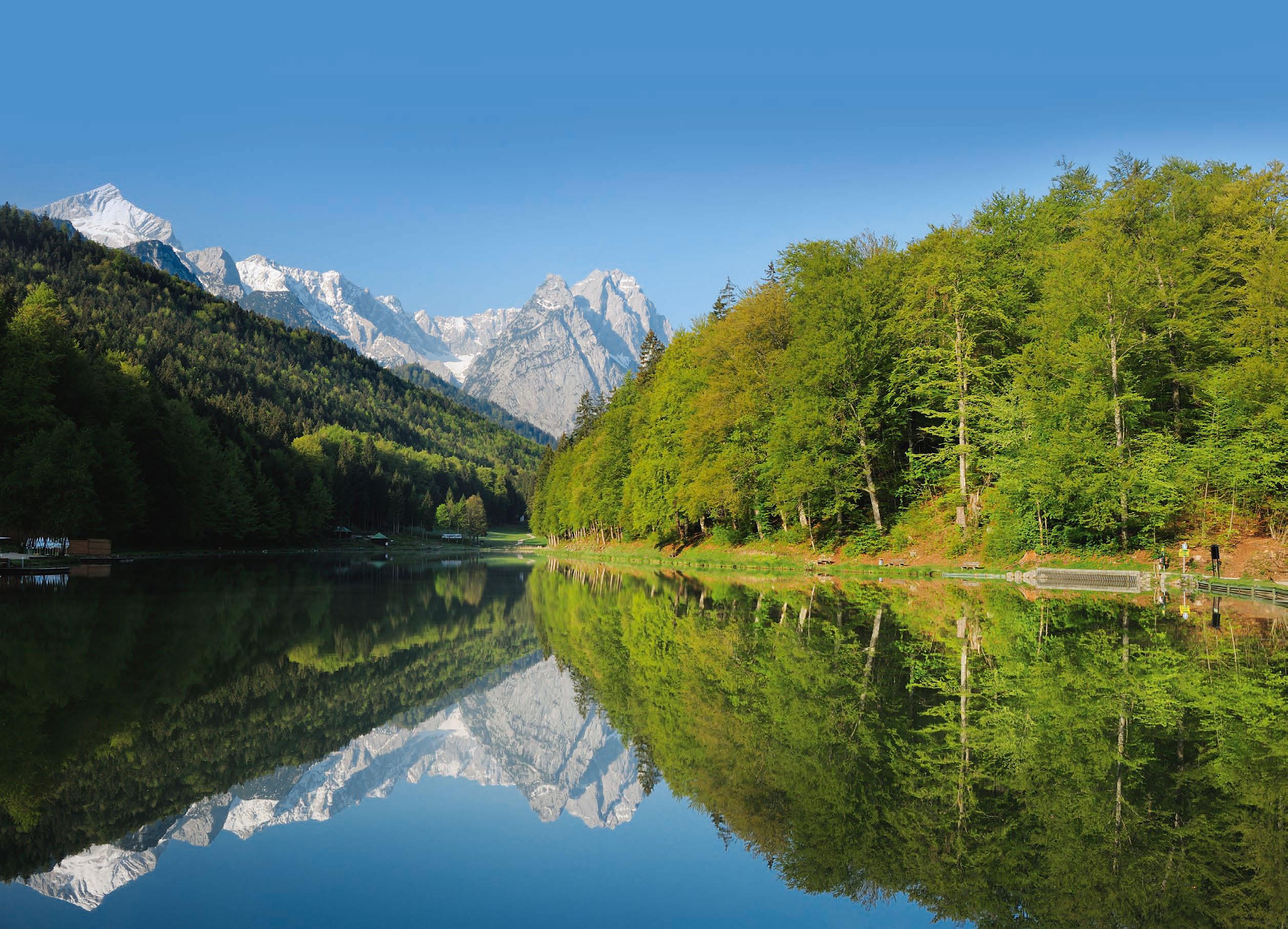 Saisonstart rund um Garmisch