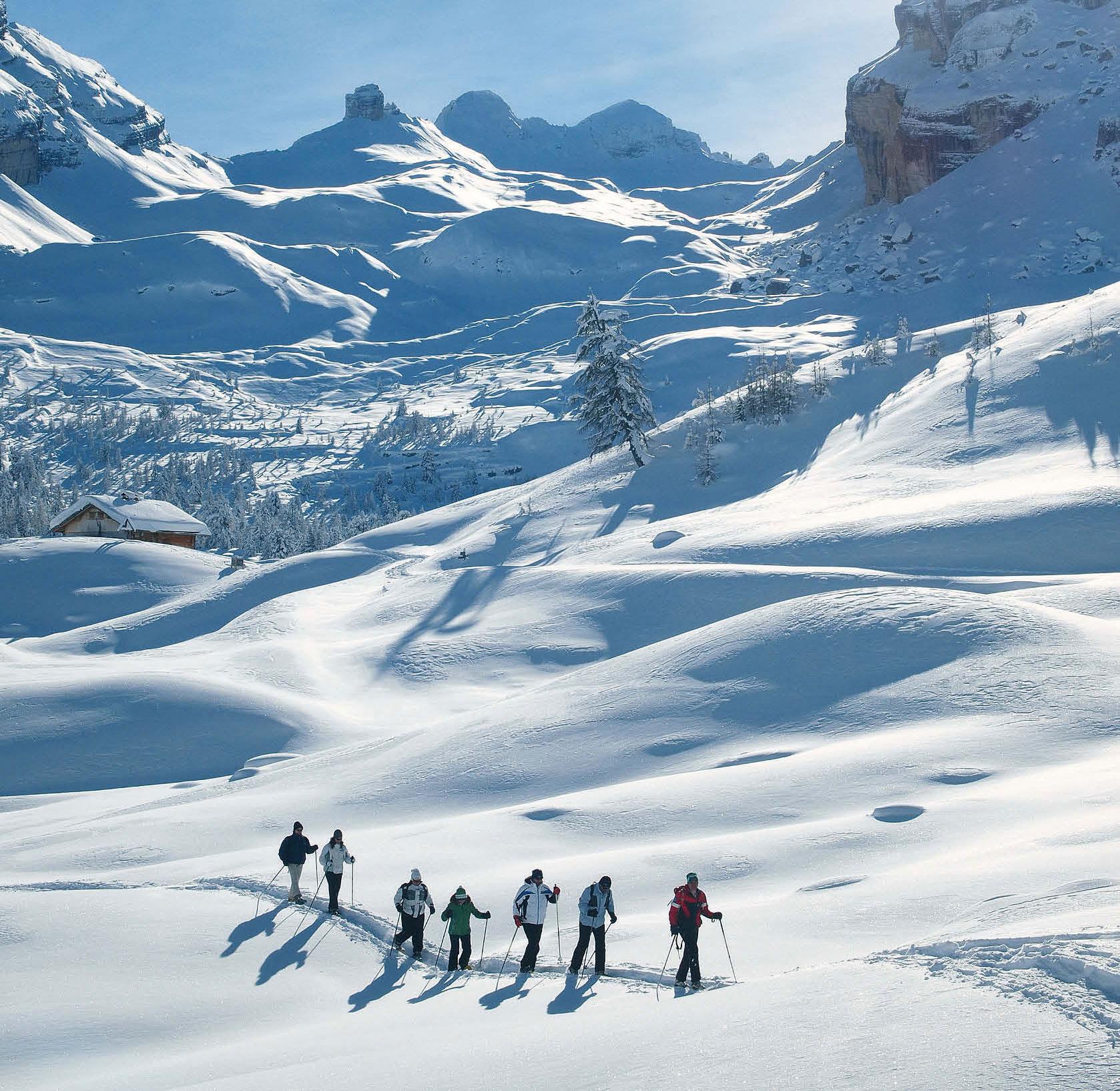 Schneeschuh- und Skitouren in der Fanesgruppe