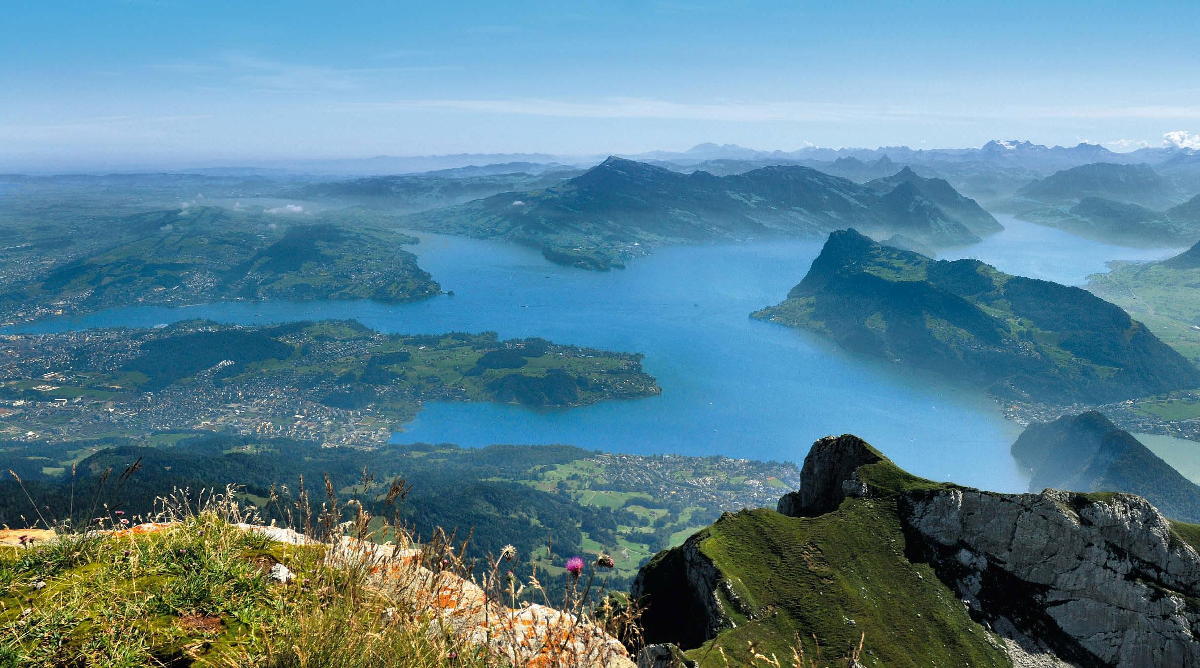 Klettersteig Luzern : Stadt land see wanderregion luzern bergsteiger magazin