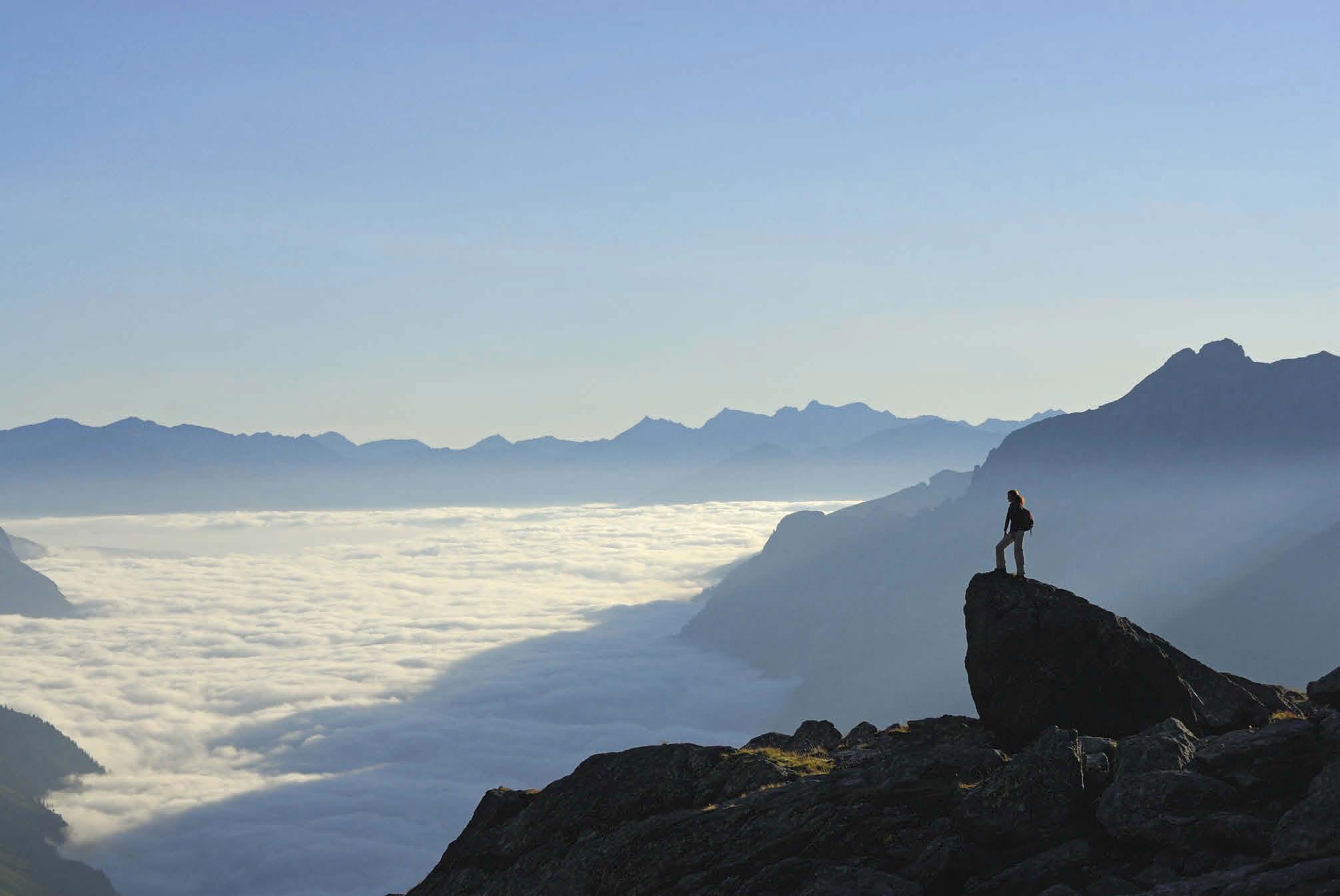 Berge wie aus dem Bilderbuch