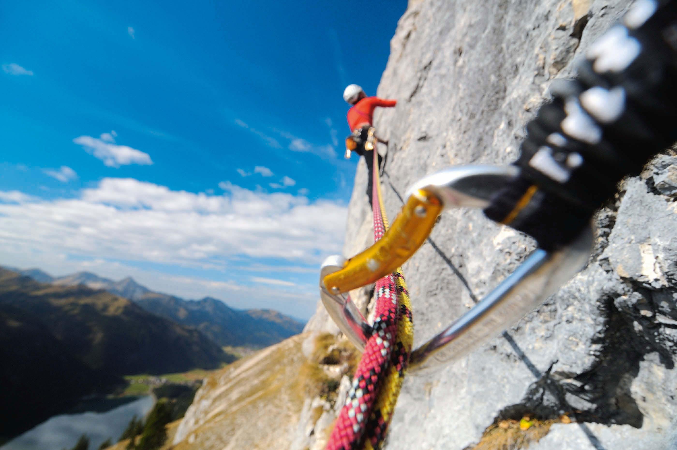 Klettersteig Norddeutschland : 20 jahre plaisirklettern bergsteiger magazin