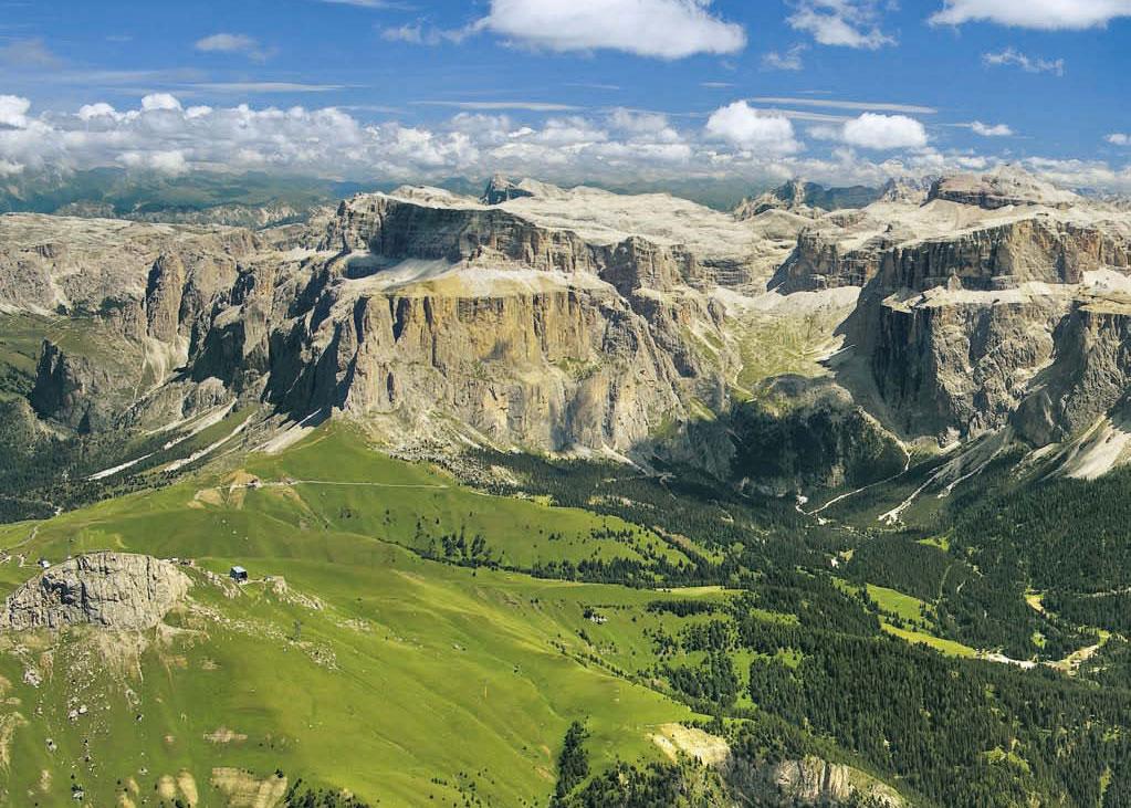 Auf Wandertour durch die »bleichen Berge«