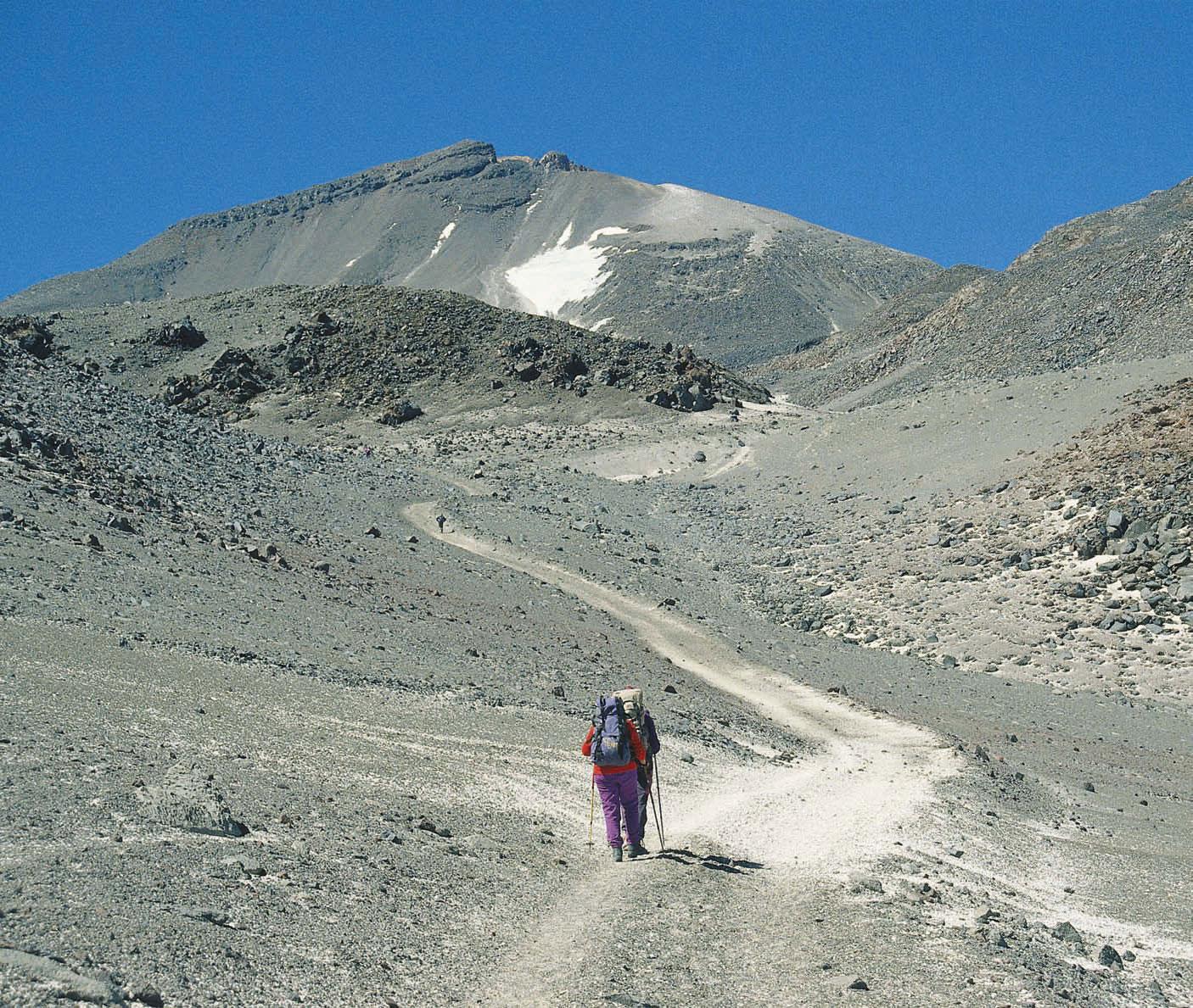Expedition auf Amerikas zweithöchsten Gipfel