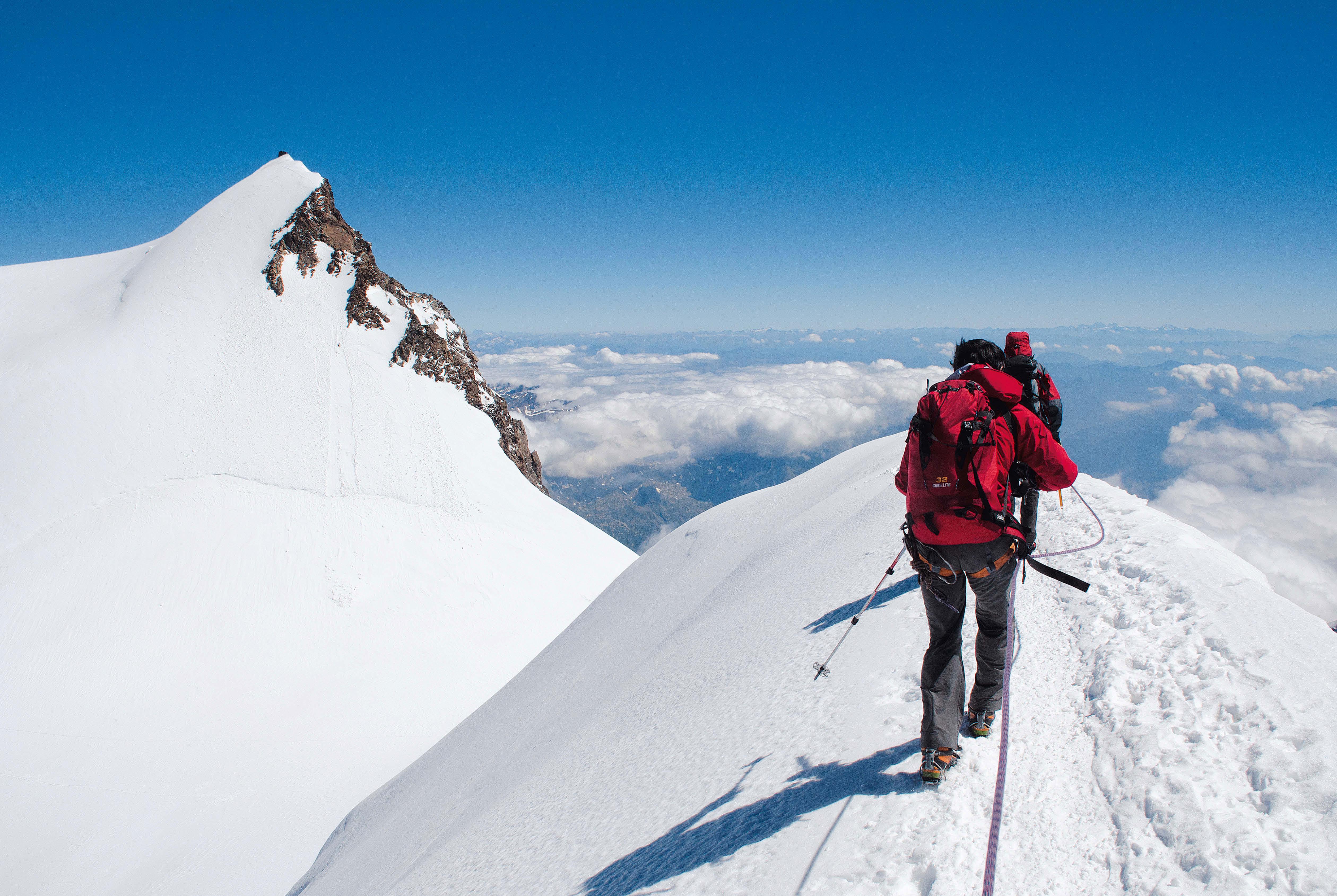 Wie am Schnürchen - die große Monte Rosa Überschreitung