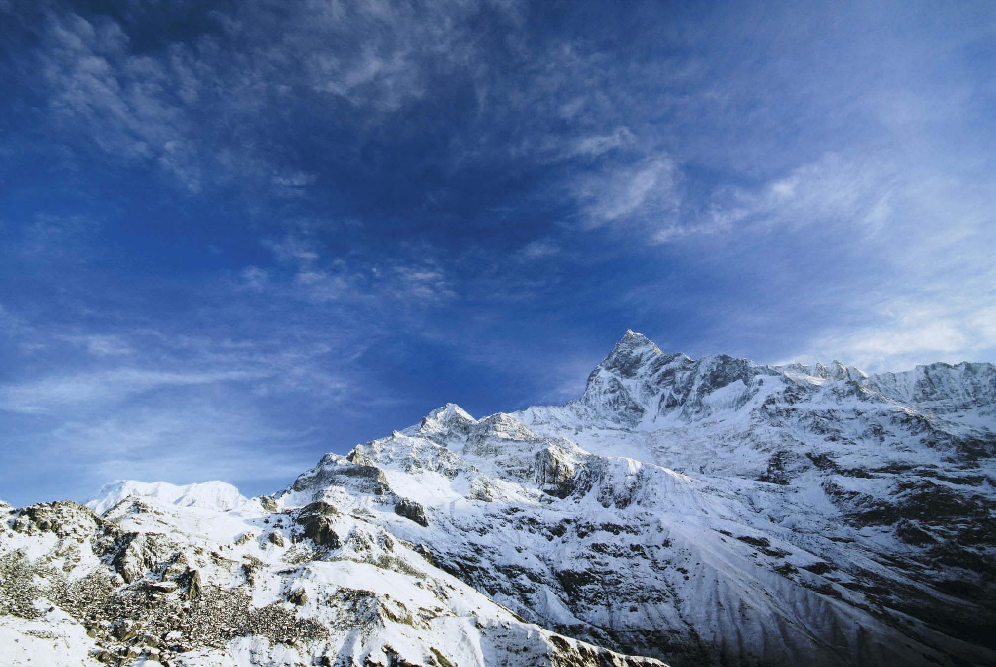 Mit Reinhold Messner im Machapuchare-Massiv