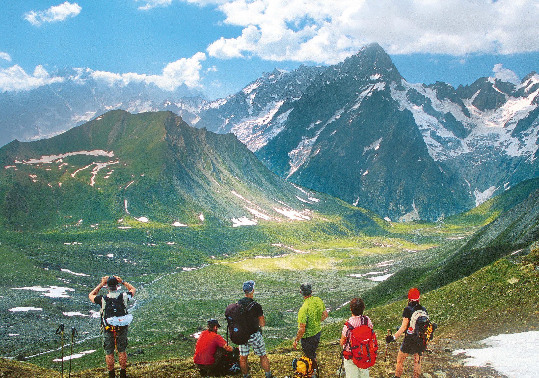 Durchs Riesenreich - Höhenwege im Aostatal