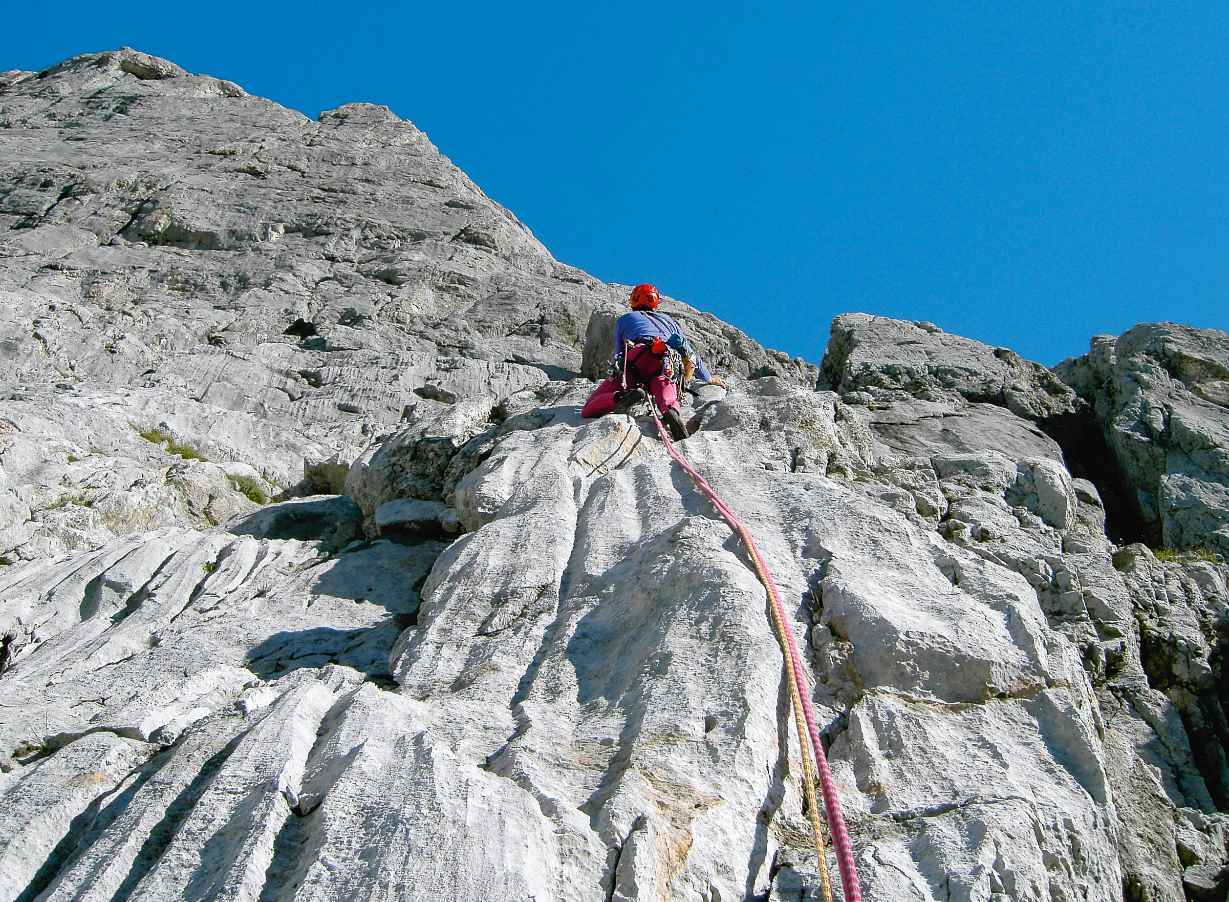Alpinklettern am Hochkönig