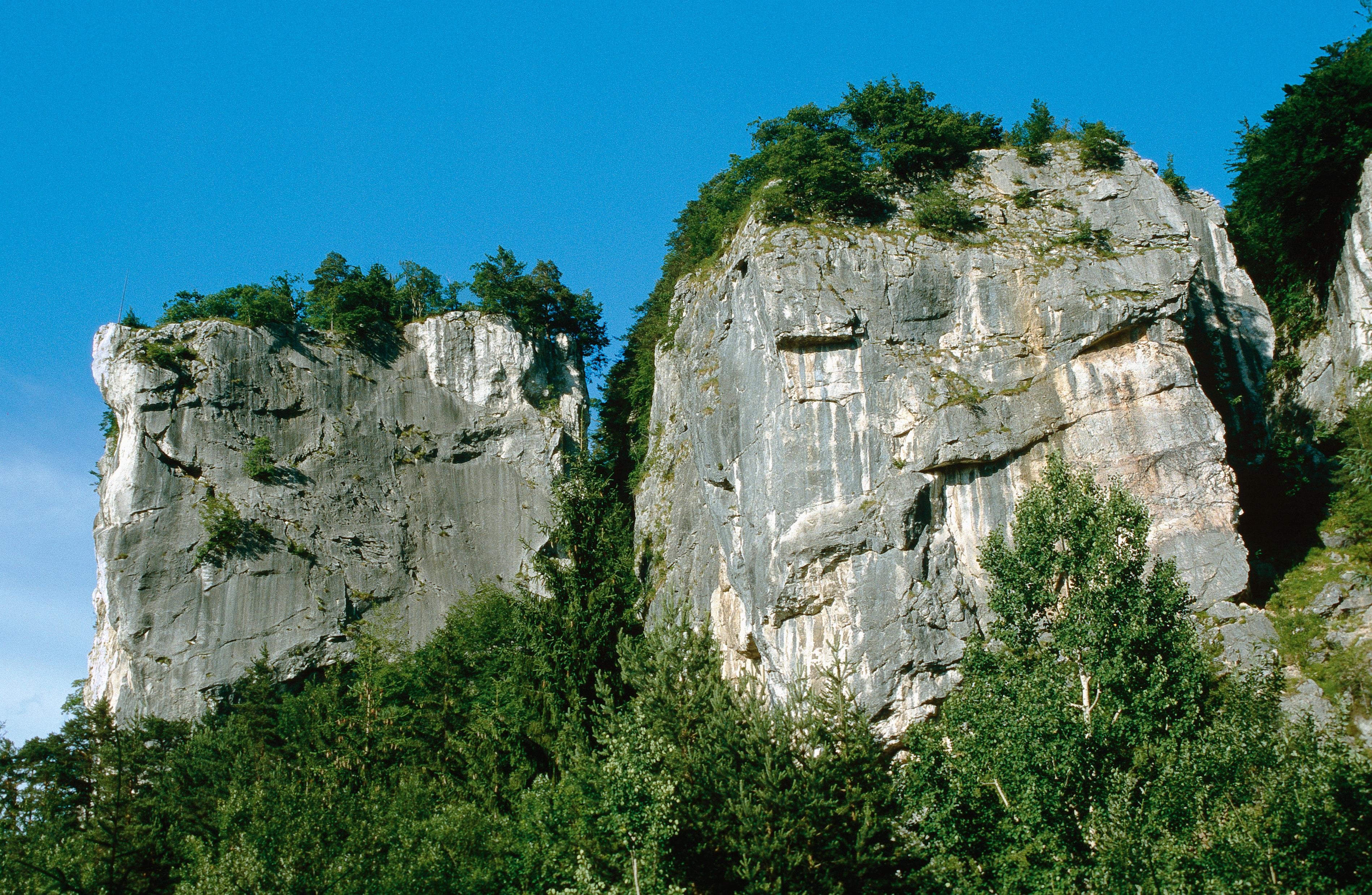 Klettergarten am Kanzianiberg in Kärnten