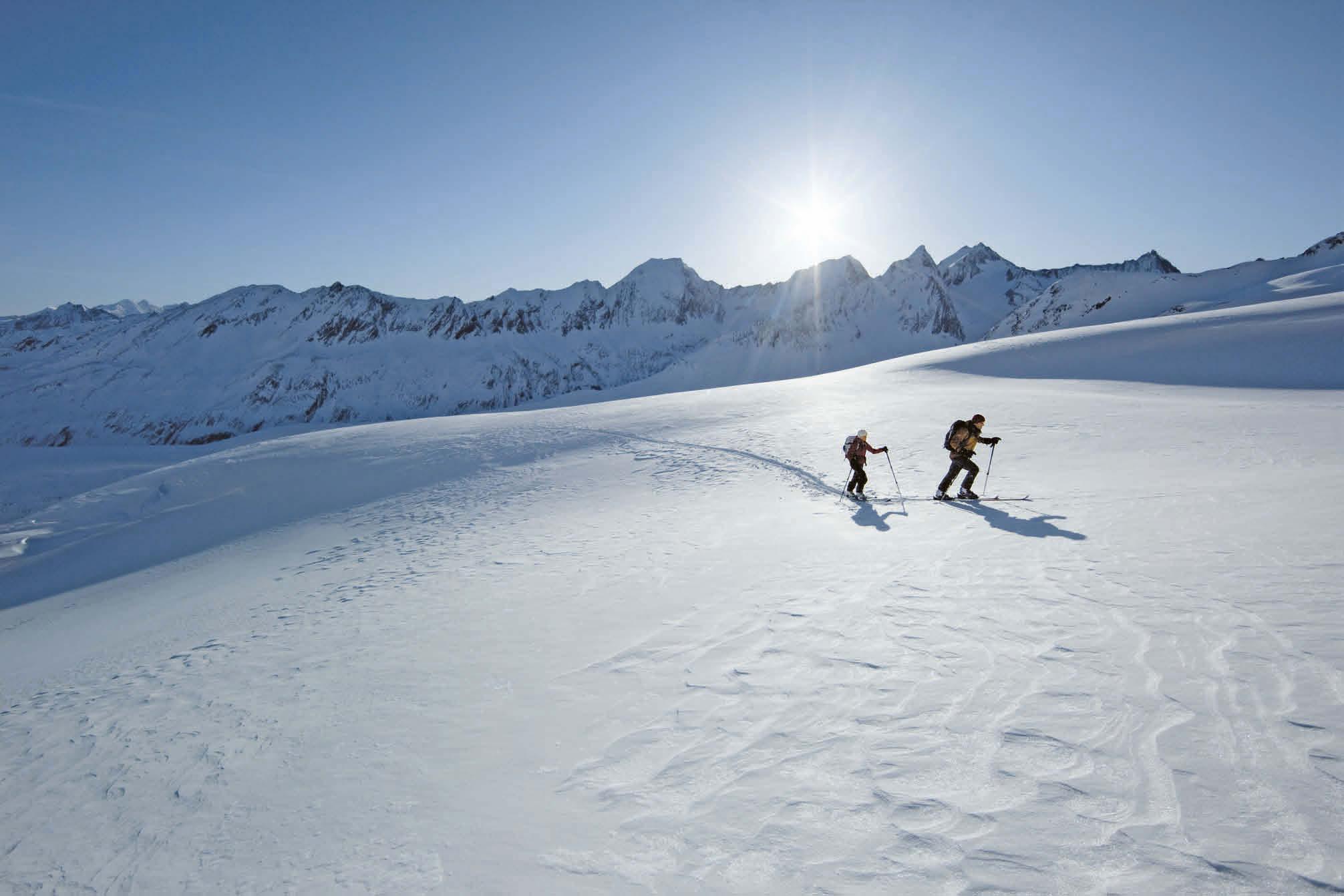 Prominente Sportler über das Phänomen Skitour