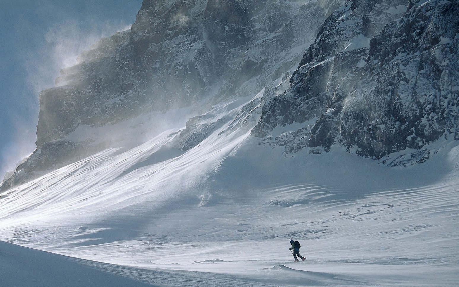 Djebel Toubkal (4167m) Marokko »Schneesturm in Nordafrika«