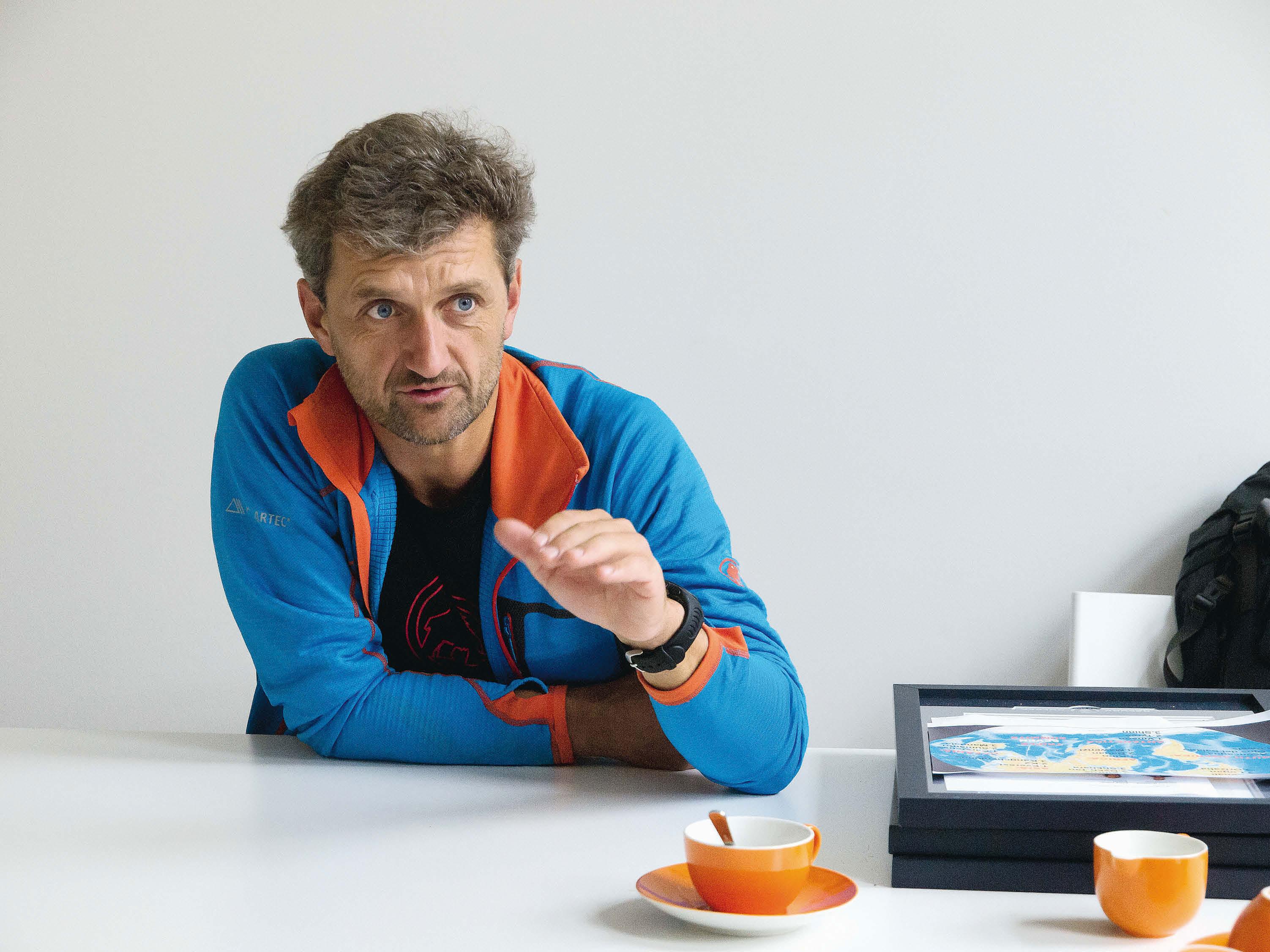 Das große Bergsteiger-Interview mit Christian Stangl