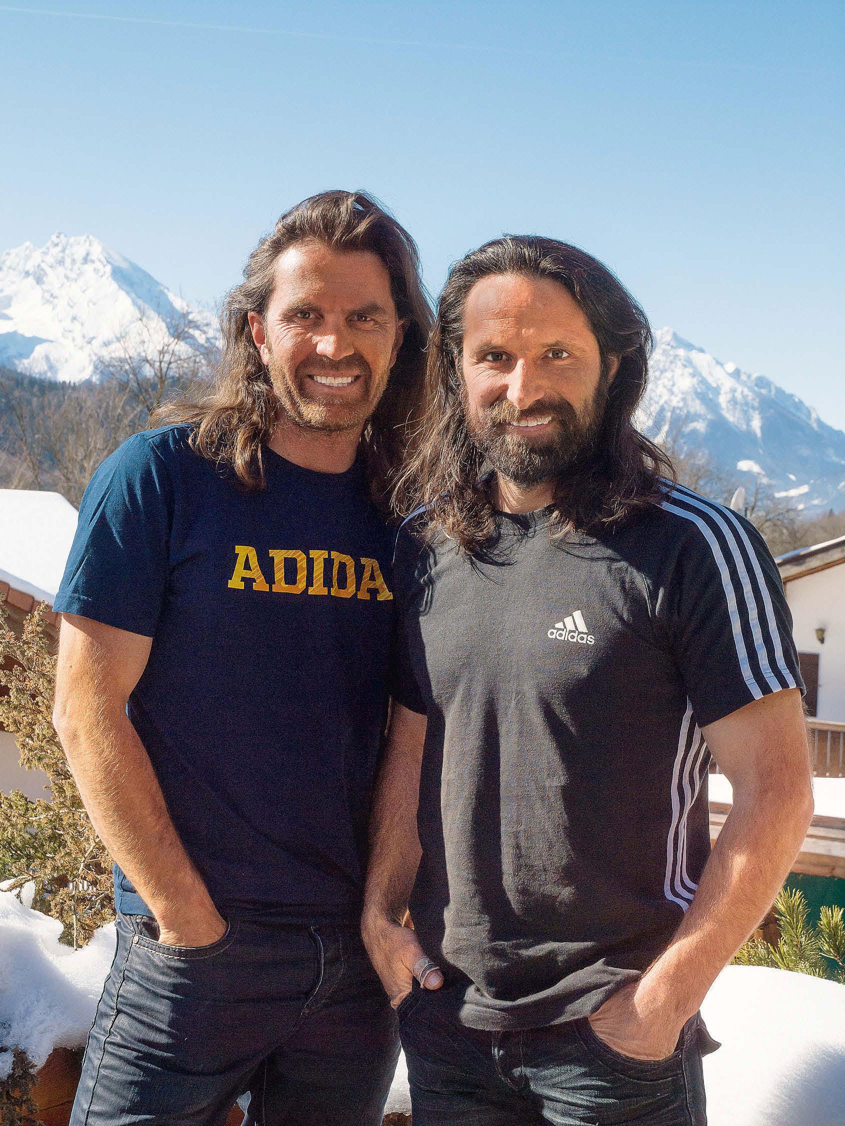 Das große Bergsteiger-Interview mit Alexander und Thomas Huber