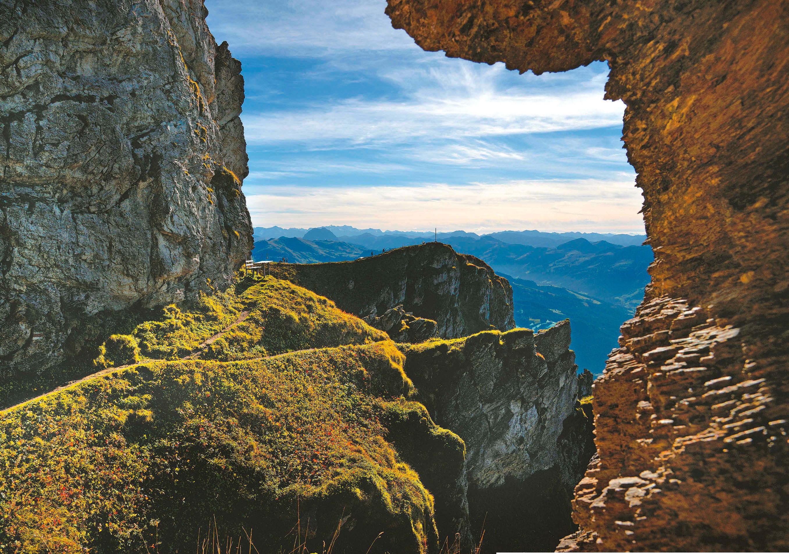 Allein der Blick vom Kitzbüheler Horn entschädigt für die rund 80 Kilometer zuvor.