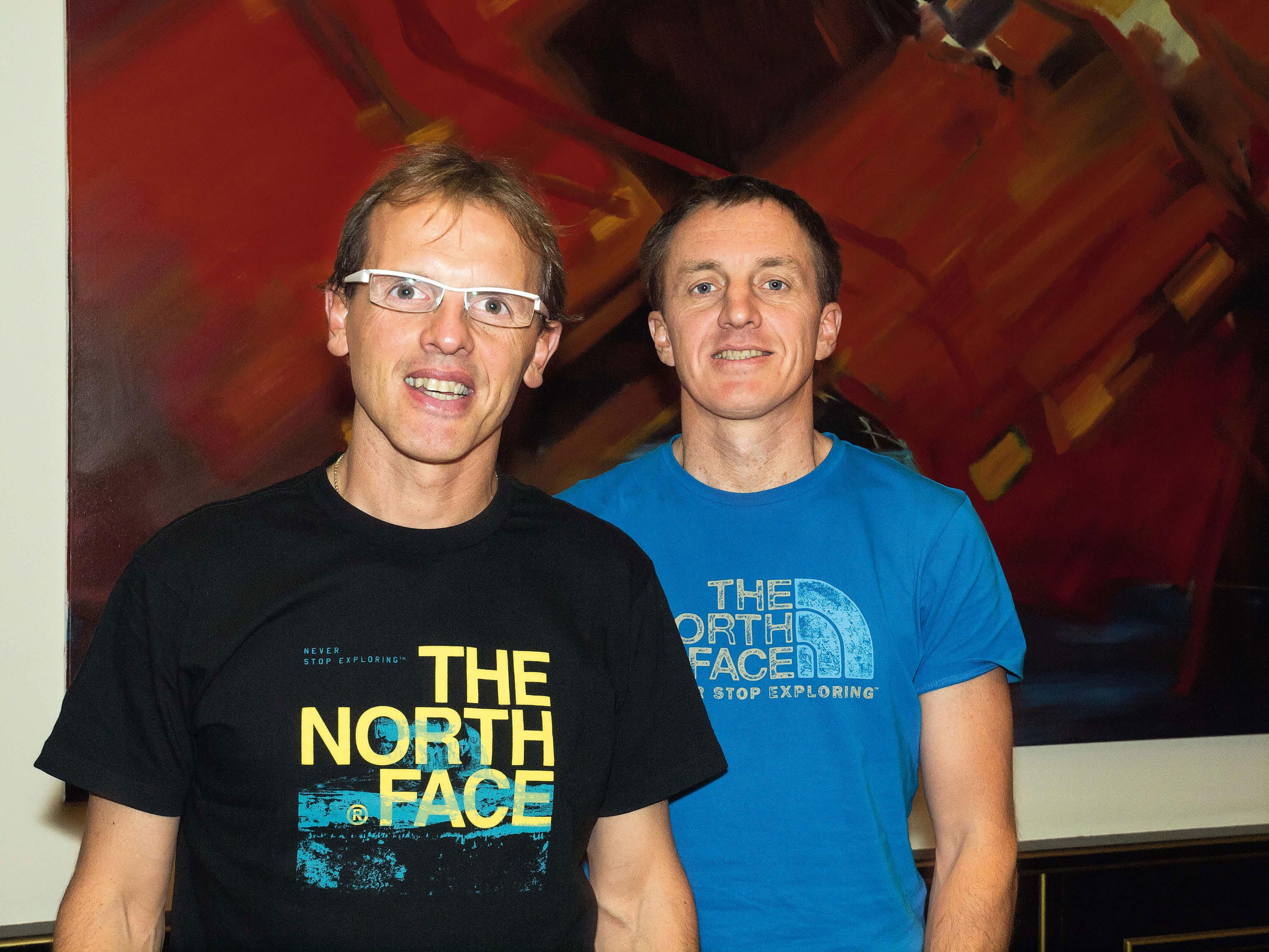 Das große Bergsteiger-Interview mit Simone Moro und Denis Urubko