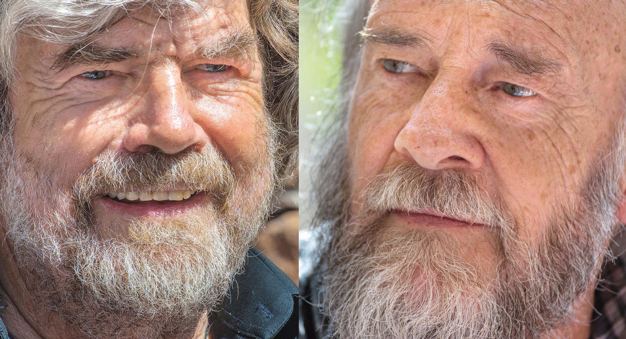 Das große Bergsteiger-Interview mit Reinhold Messner und Eugen E. Hüsler