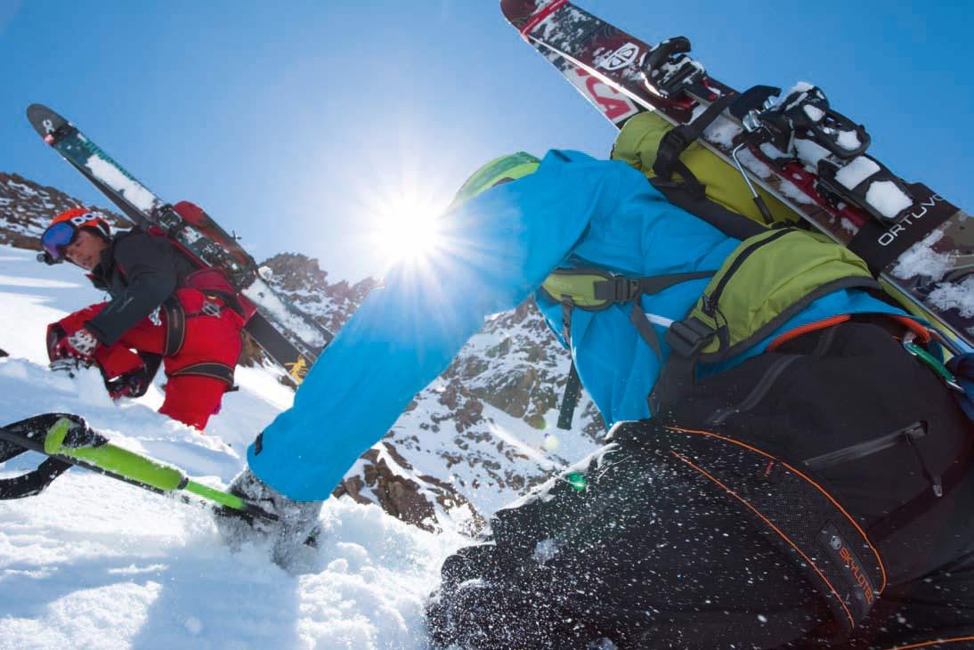 Organisationstalente - Skitourenrucksäcke für Tagestouren
