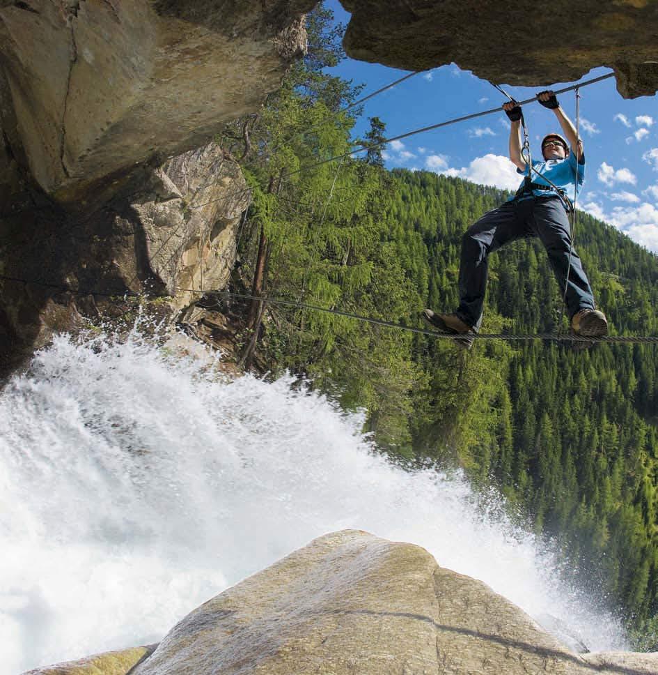 Gut versichert - Der BERGSTEIGER Klettersteigset Test
