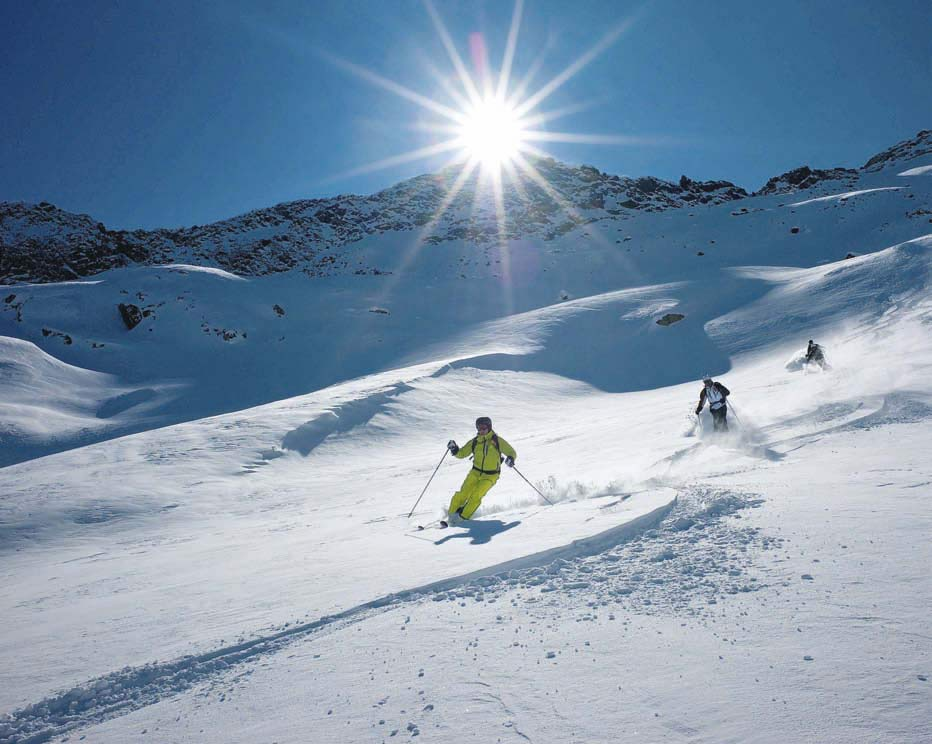 Klettergurt Skitour Test : Tourenski test  bergsteiger magazin
