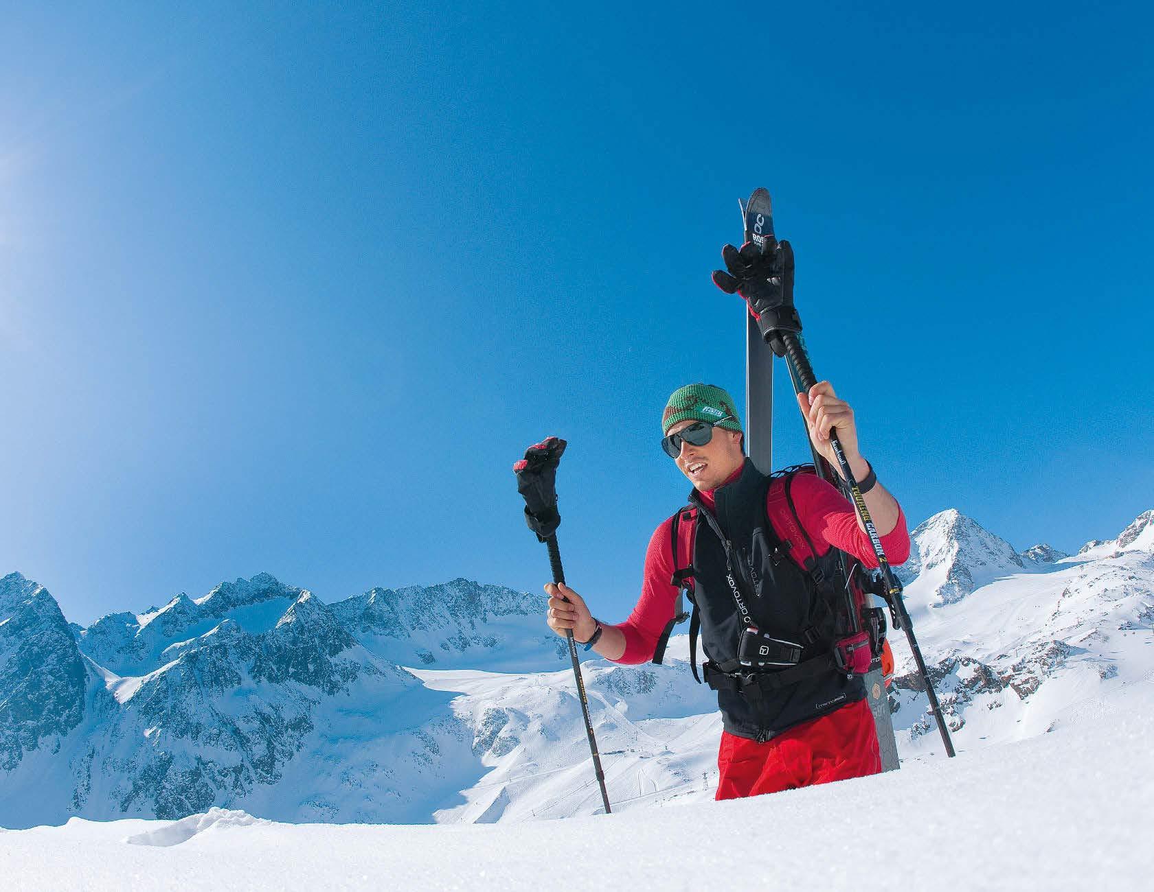 Immer auf Sendung - Bergsteiger LVS Test