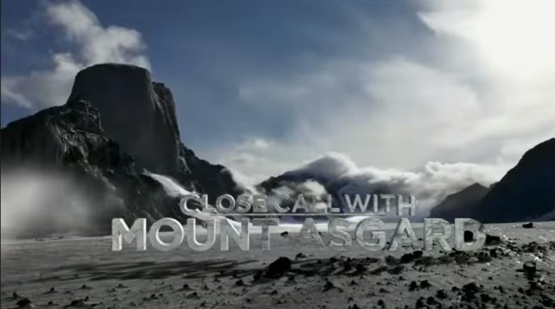 Alexander und Thomas Huber am Mount Asgard
