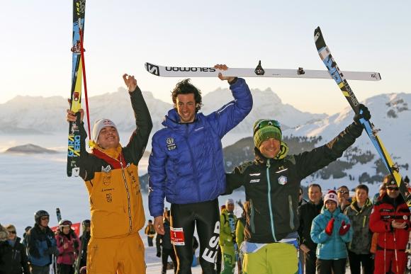 Jornet gewinnt vor Palzer und Holzknecht die WM im Vertical © www.verbier2015.ch