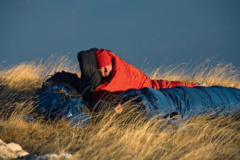 Daunenschlafsäcke Test