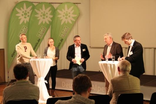 Die Zukunft des Bergsports als großes Thema bei der Jahrespressekonferenz des DAV